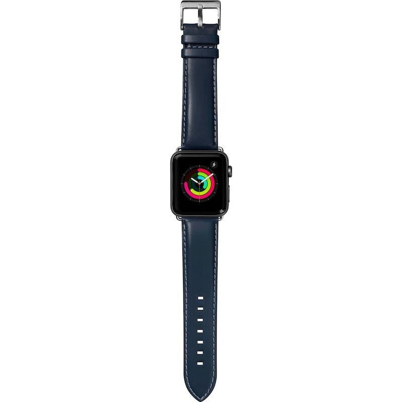 Bracelete para Apple Watch Laut Oxford, 44/42mm - Azul Indigo