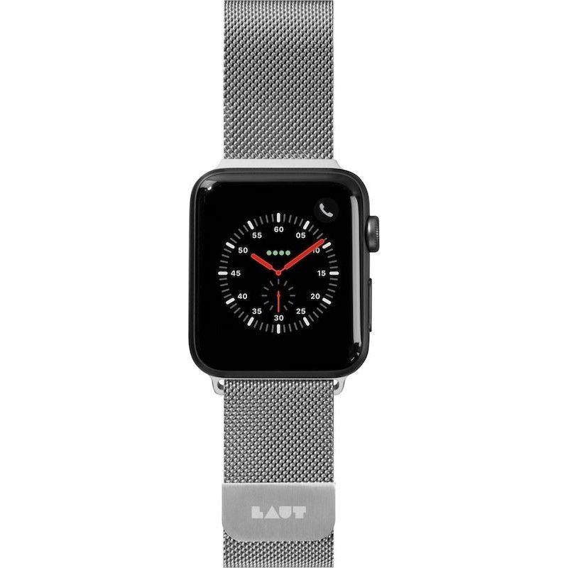 Bracelete para Apple Watch Laut Steel Loop, 44/42mm - Prateado