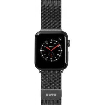 Bracelete para Apple Watch Laut Steel Loop, 44/42mm - Preto