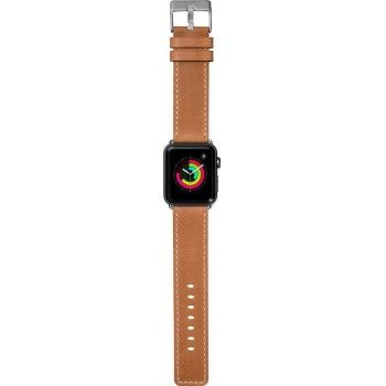Bracelete para Apple Watch Laut Safari, 44/42mm - Tan