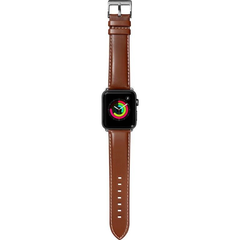 Bracelete para Apple Watch Laut Oxford, 44/42mm - Tobacco
