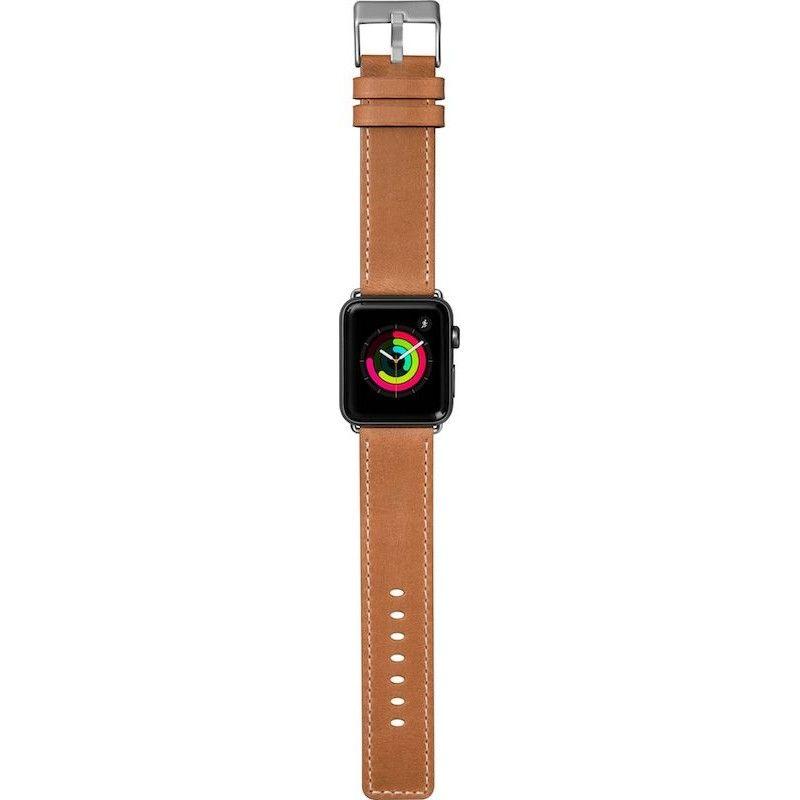 Bracelete para Apple Watch Laut Safari, 44/42mm - Tan