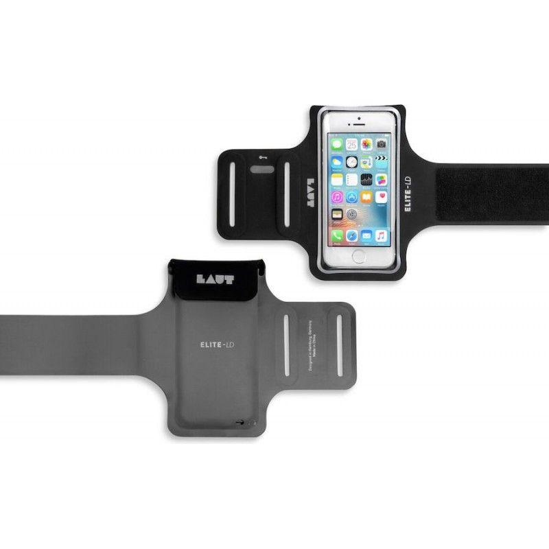 Braçadeira para iPhone 5/5s/SE Laut Elite-LD - Preto