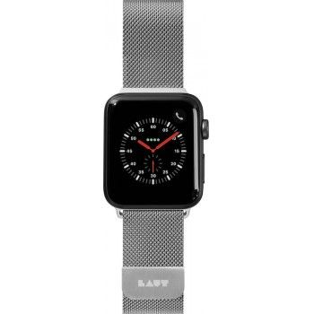 Bracelete para Apple Watch Laut Steel Loop, 40/38mm - Prateado