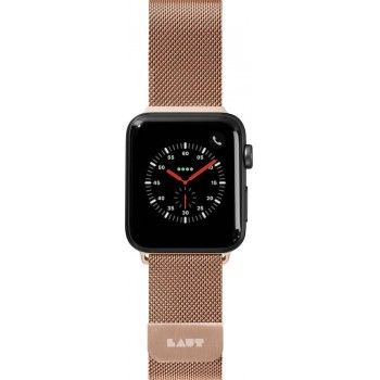 Bracelete para Apple Watch Laut Steel Loop, 40/38mm - Dourado