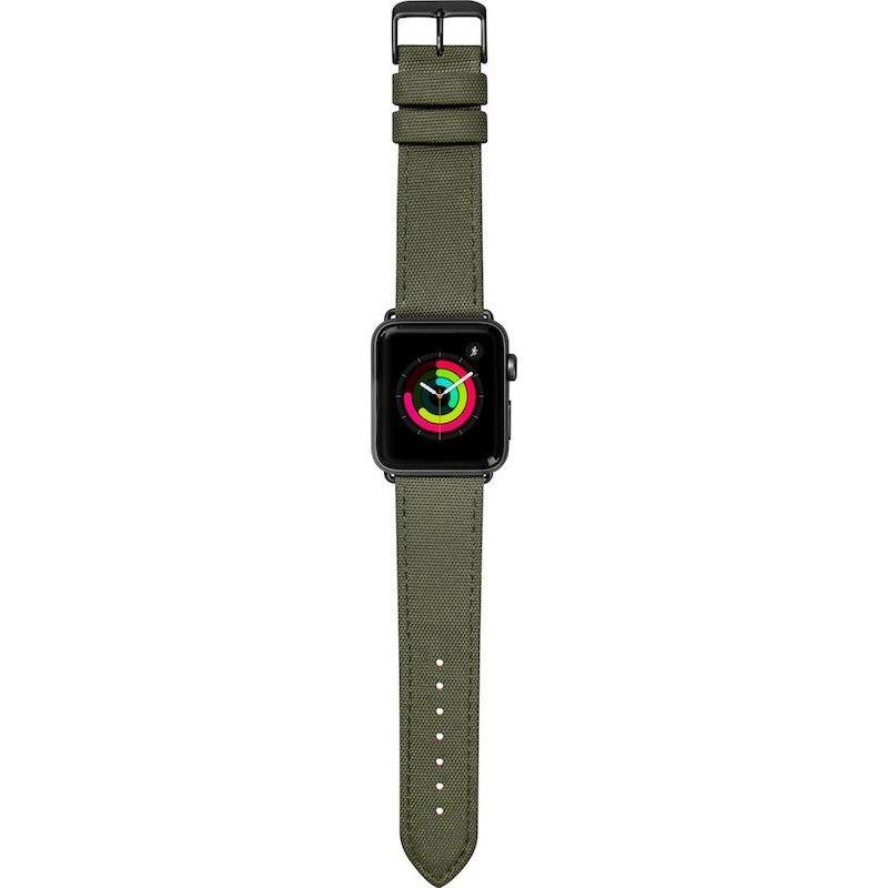 Bracelete para Apple Watch Laut Technical, 40/38mm - Verde Militar
