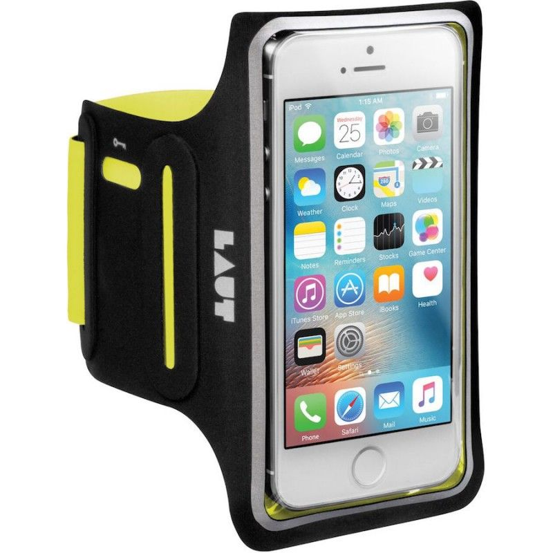 Braçadeira para iPhone 5/5s/SE Laut Elite-LD - Amarelo