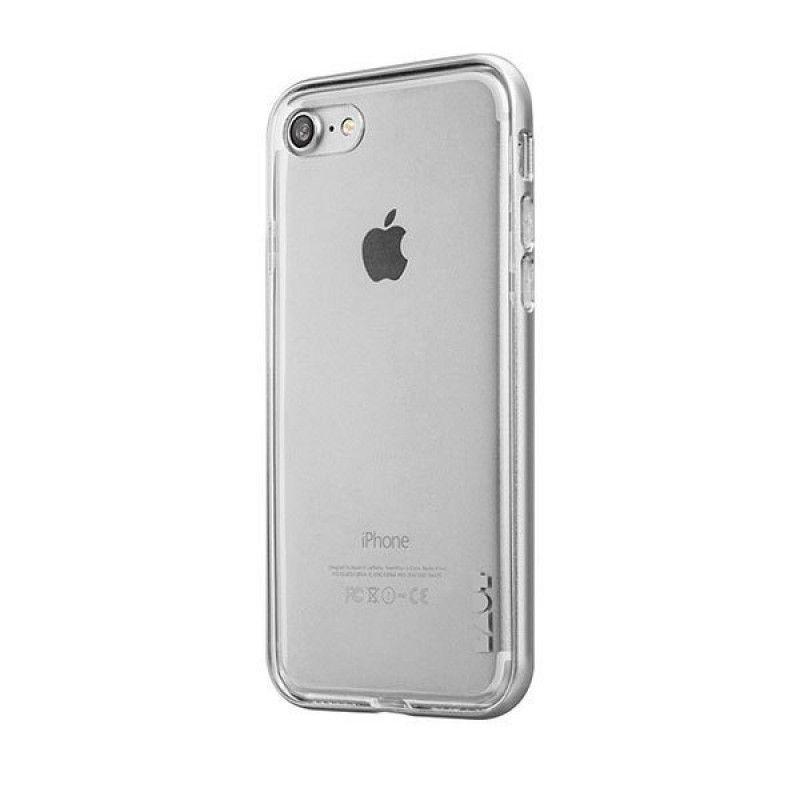 Capa ExoFrame de aluminio Laut iPhone 8 / 7 - Prateado