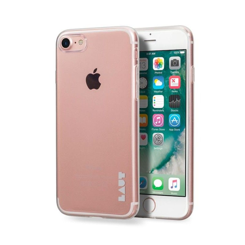 Capa em TPU para iPhone 7/8 Laut Lume - Ultra Clear