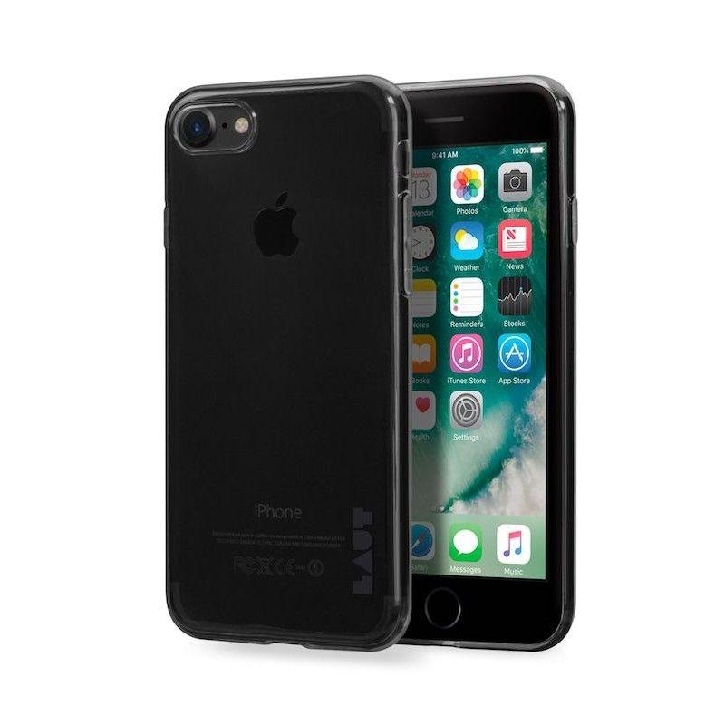 Capa em TPU para iPhone 7/8 Laut Lume - Ultra Preto