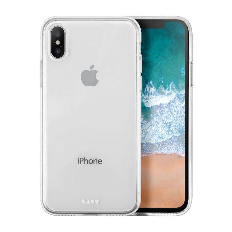Capa em TPU para iPhone X Laut Lume - Transparente