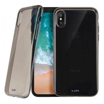 Capa em TPU para iPhone X - Translúcida Preto