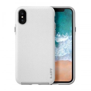 Capa muito resistente para iPhone X/XS Laut Shield - Branco