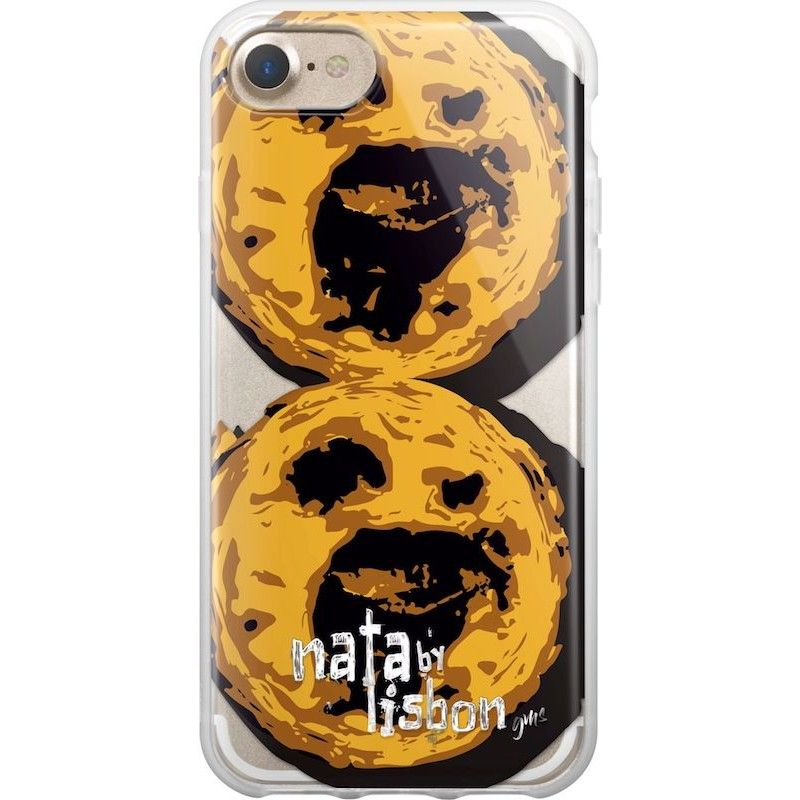 Capa iPhone 8/7 Pastel de Nata Lisboa, Saudade Series 2