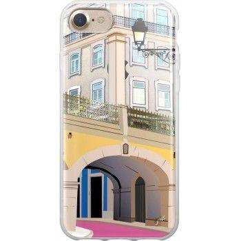 Capa iPhone 8/7 Rua Rosa Cais do Sodré Lisboa, Saudade Series 2