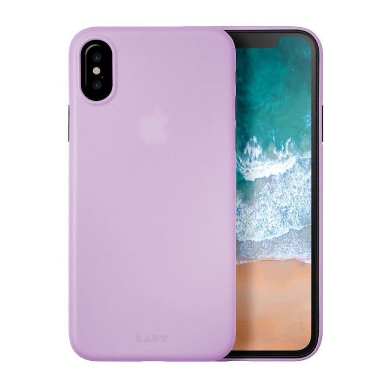 Capa fina para iPhone X/XS - Violeta