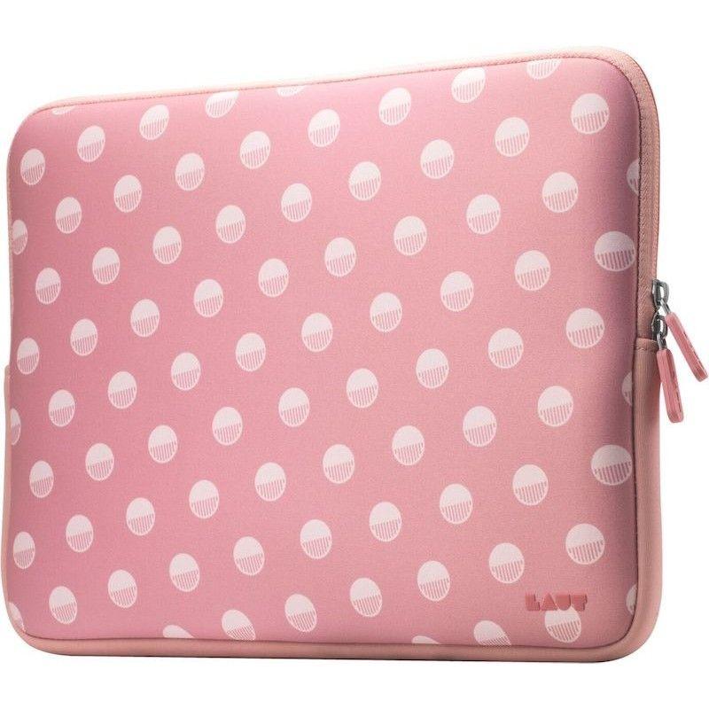 "Sleeve para MacBook Pro 13"" Laut Pop - Polka Pink"