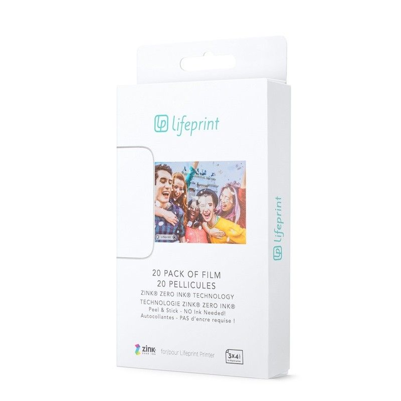 LifePrint 3x4,5 Film - 20 Pack