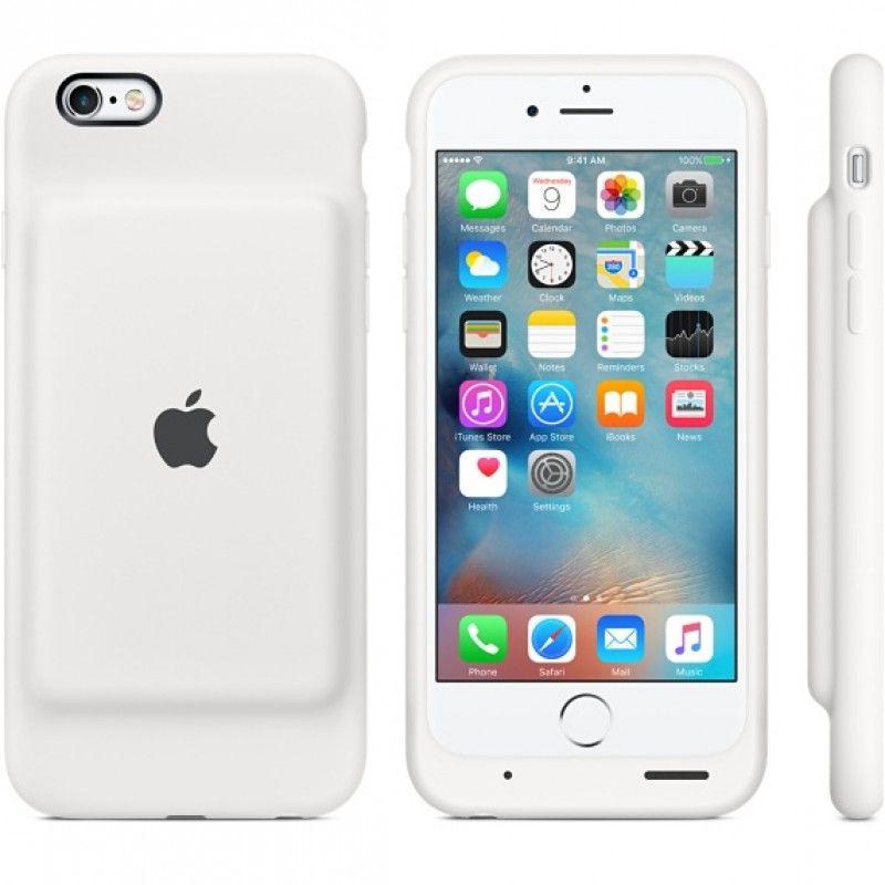 Capa com bateria para iPhone 6s Smart Battery Case - Branco