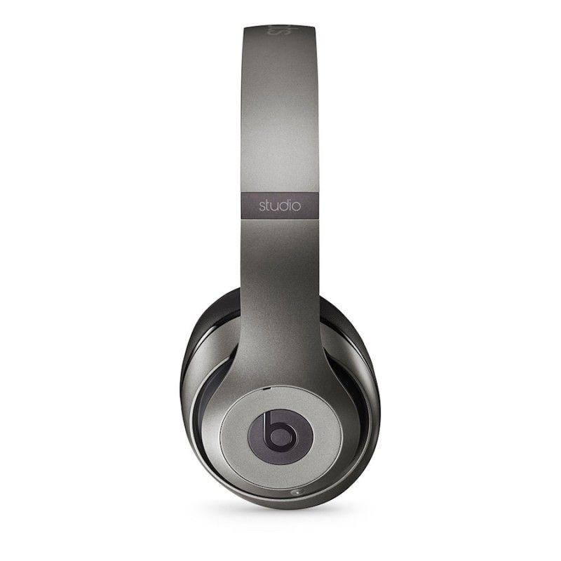 Auscultadores Beats Studio sem fio by Dr. Dre - Titanium