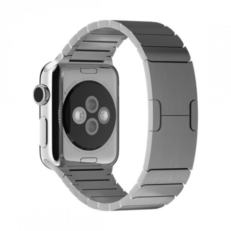 Bracelete Apple Watch metal elos (38 mm) - Prateada