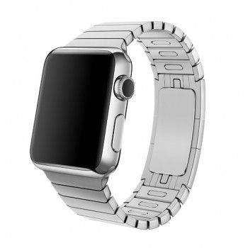 Bracelete Apple Watch metal elos (40/38 mm) - Prateada