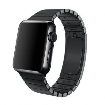 Bracelete Apple Watch metal elos (40/38 mm) - Preta