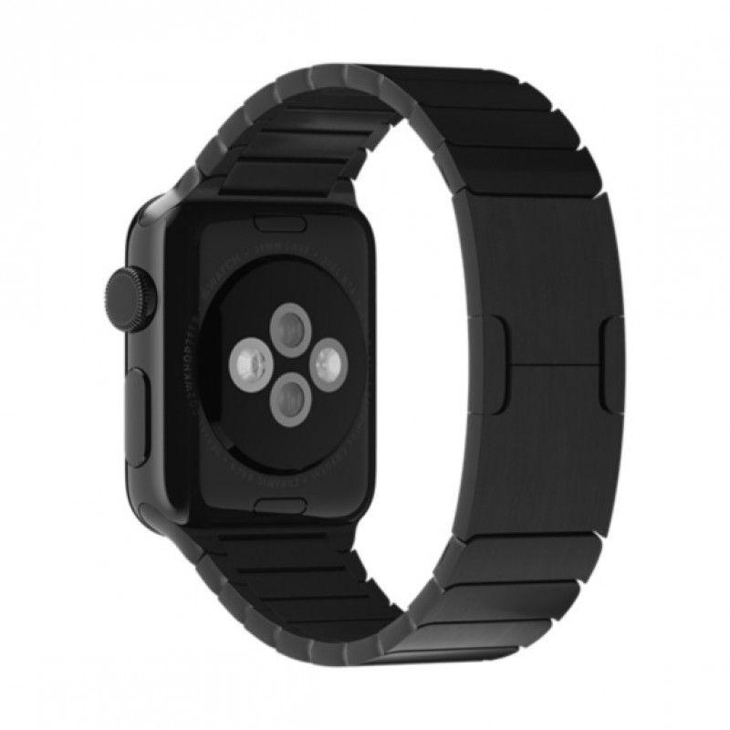 Bracelete Apple Watch metal elos (40/38 mm) - Preta