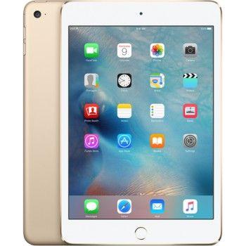 iPad mini 4 Wi-Fi + Cell 128 GB - Dourado