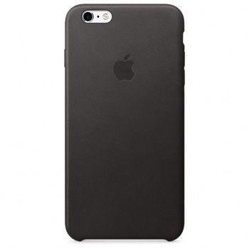 Capa em pele para iPhone 6/6s Plus - Preto