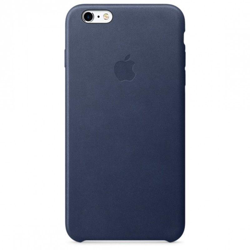 Capa em pele para iPhone 6/6s Plus - Azul meia-noite