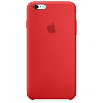 Capa em silicone para iPhone 6/6s Plus - (PRODUCT)RED