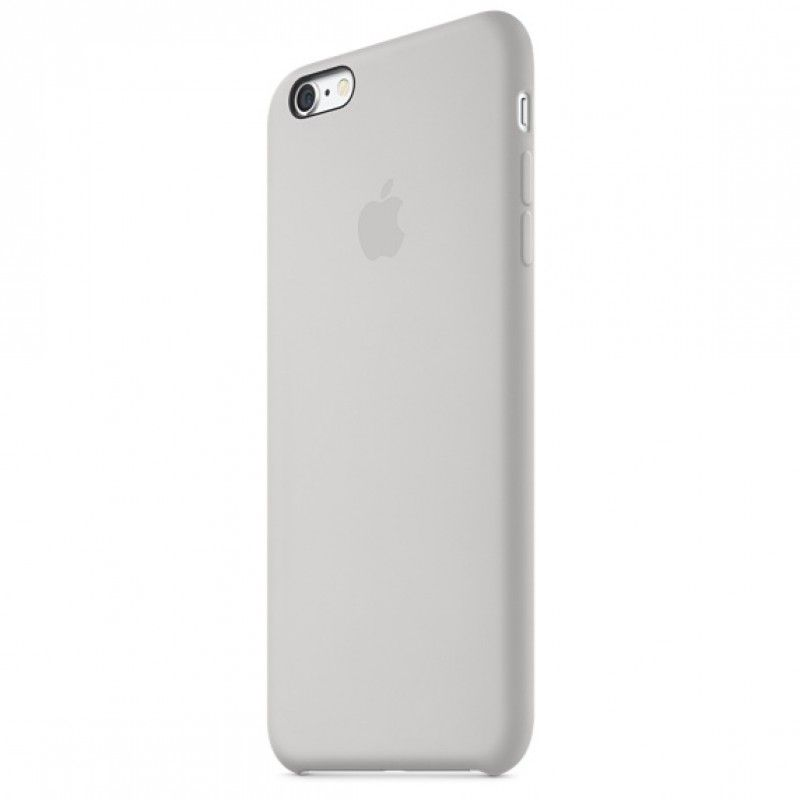 Capa em silicone para iPhone 6/6s Plus - Branco