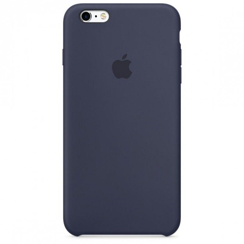 Capa em silicone para iPhone 6/6s Plus - Azul meia-noite