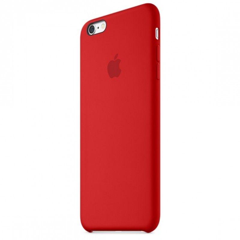 Capa em silicone para iPhone 6/6s Plus - (PRODUCT)RED