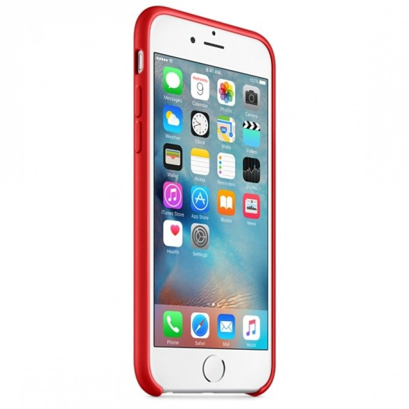 Capa em silicone para iPhone 6/6s - (PRODUCT)RED