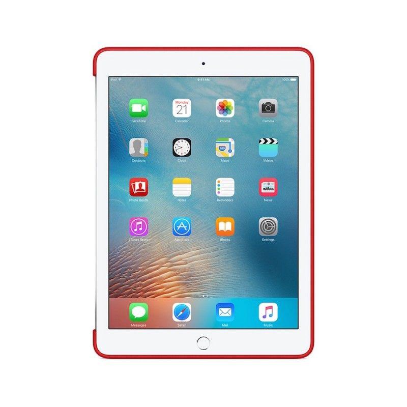 Capa em silicone para iPad Pro de 9,7 polegadas - Encarnada