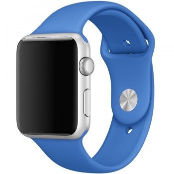 Bracelete desportiva (42 mm) - Azul Royal (Vitrine)