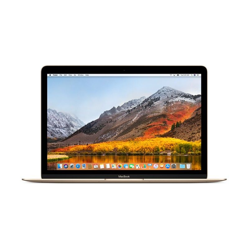 "MacBook 12"" 1.2GHz dual-core Intel Core m3, 256GB - Dourado"