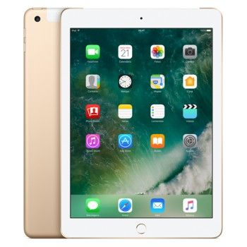 iPad Wi-Fi + Cell 128GB - Dourado