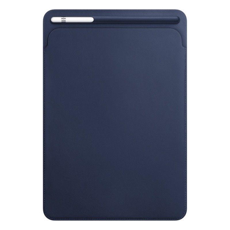 """Pasta em pele para iPad Pro de 10,5"""" - Azul Meia-noite"""