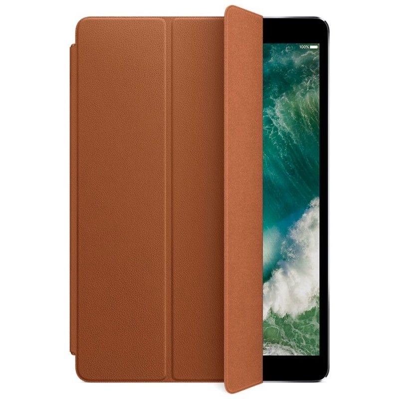 Capa Smart Cover em pele para iPad Pro de 10,5´- Castanho-sela