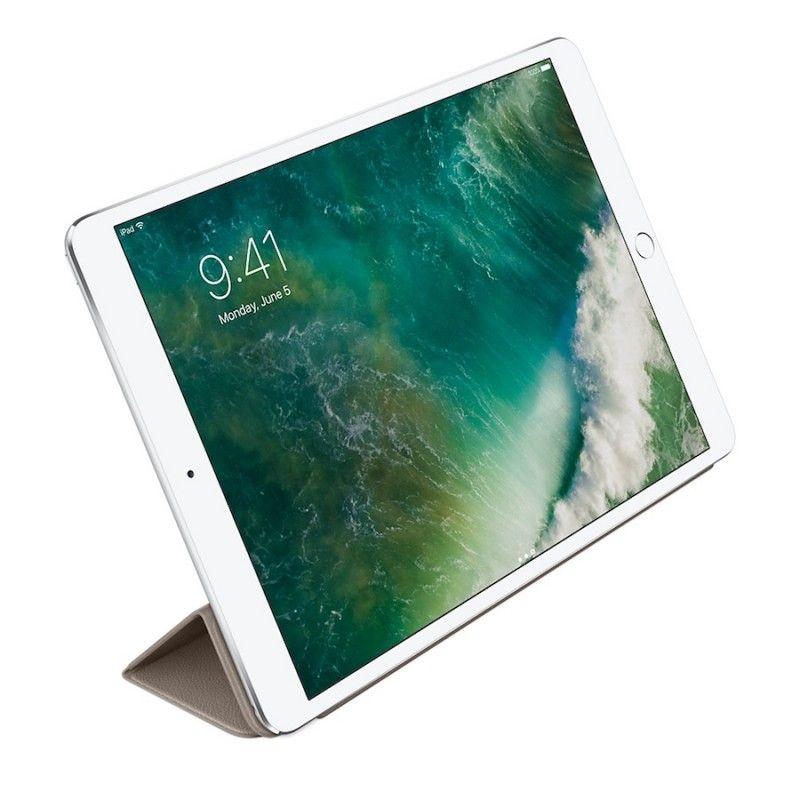 Capa Smart Cover em pele para iPad Pro de 10,5´- Castanho toupeira