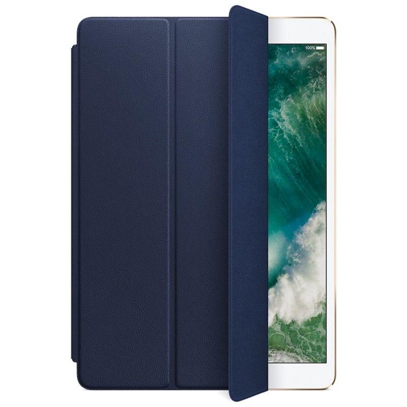 """Capa Smart Cover em pele para iPad Pro de 10,5""""- Azul meia-noite"""