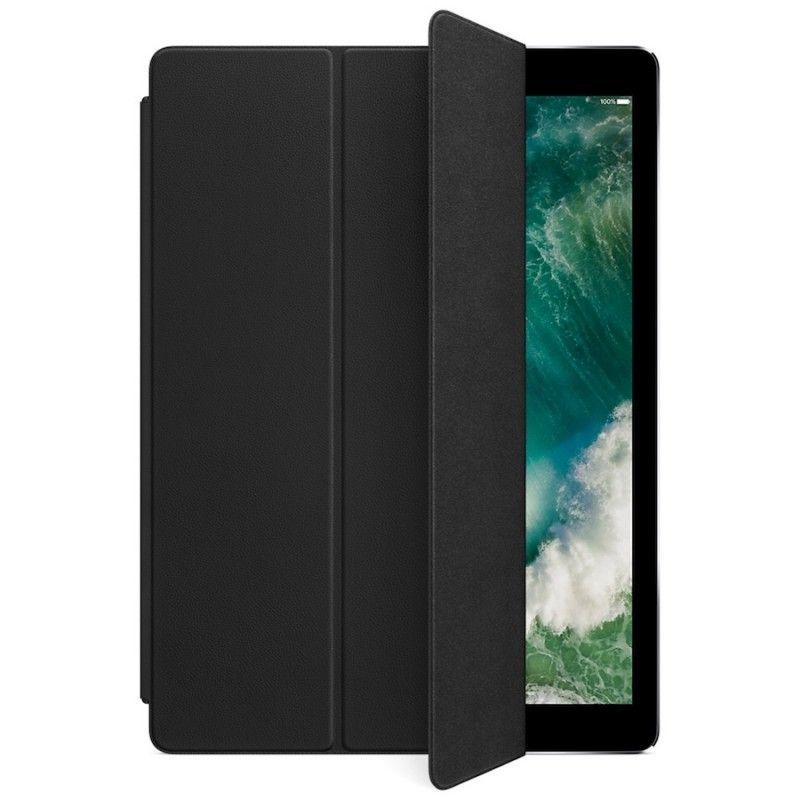 Capa Smart Cover em pele para iPad Pro de 12,9 polegadas - Preto
