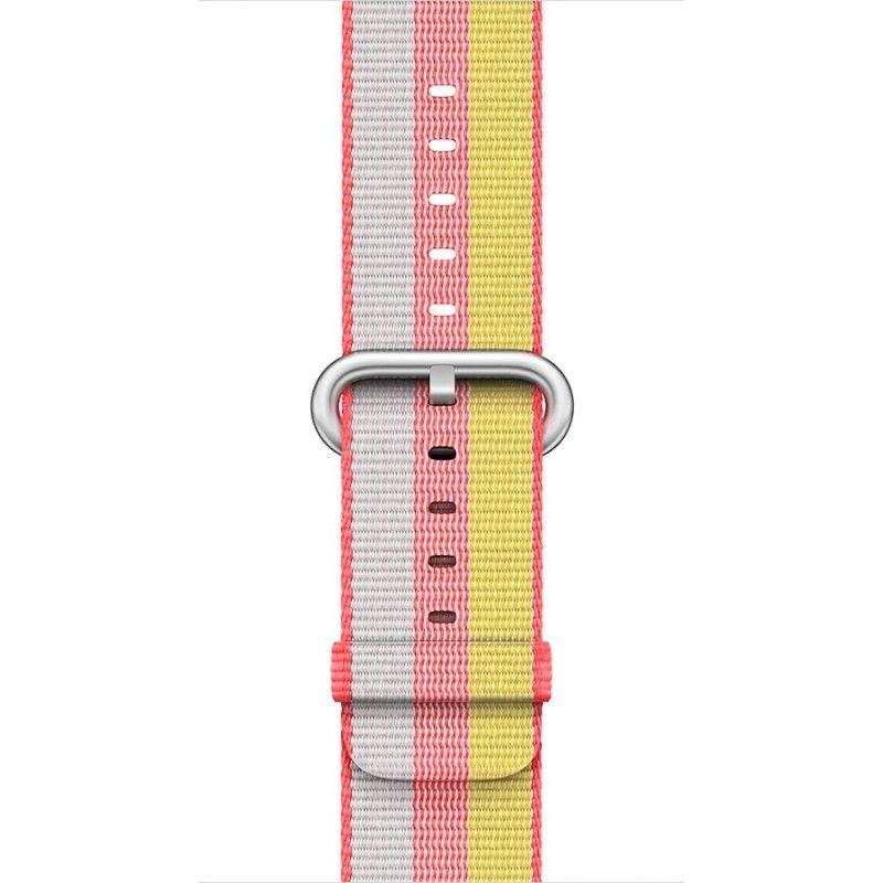 Bracelete em nylon (42 mm) - Encarnado (Vitrine)