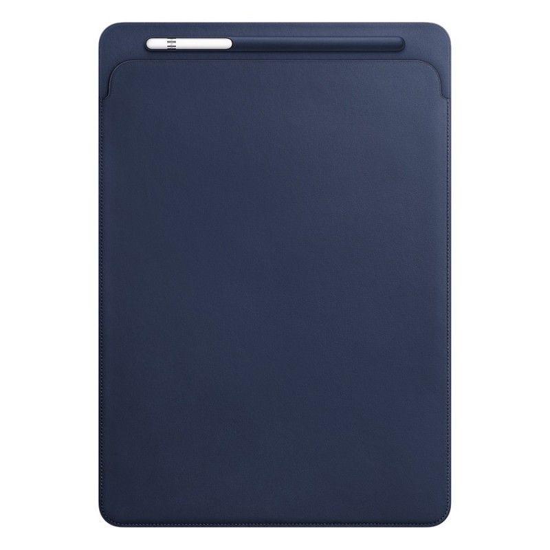 Pasta em pele para iPad Pro 12,9 - Azul Meia-noite