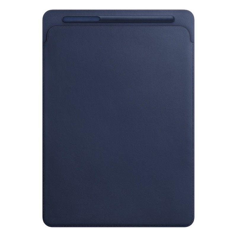 """Pasta em pele para iPad Pro 12,9"""" - Azul Meia-noite"""