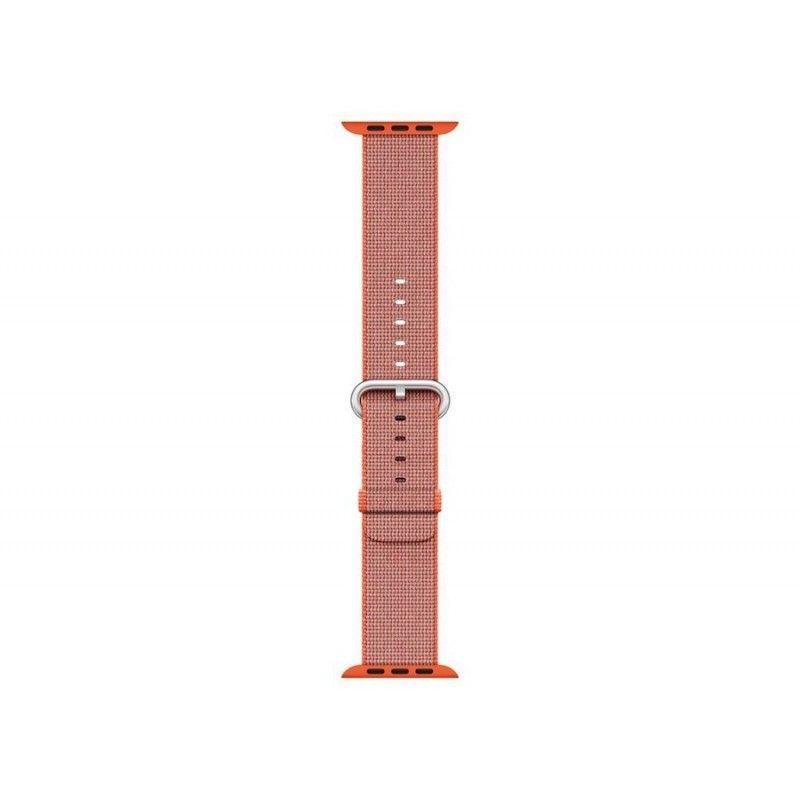 Bracelete em tecido de nylon (42 mm) - Laranja/Antracite (Vitrine)