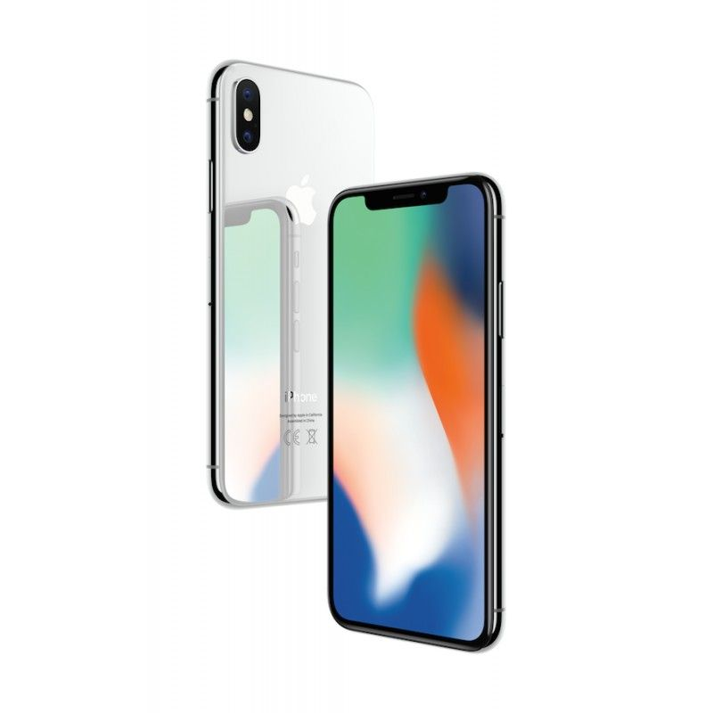iPhone X 64GB - Prateado